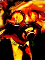 Gas Mask by Kilga