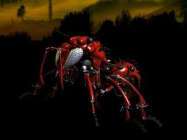 Red Wasp by ART-HAUS-STUDIOS