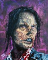 Bus Rider Zombie - The Walking Dead by Shawn-Conn