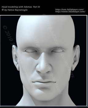 Head modeling with 3dsmax by eydii