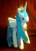 Princess Celestia rag doll version 2 view 1 by joitheartist