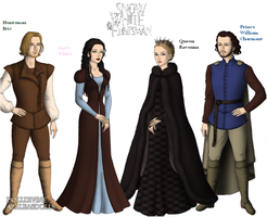 Snow White and the huntsman in Game of Thrones Sty by MinkyThomas