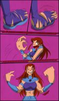 Teen Titans Starfire Growth Page 2 by tfsubmissions