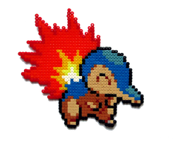 #155 - Cyndaquil by Aenea-Jones