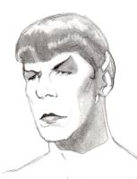 Spock goes flapper by ColubridCola