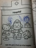 Hello Kitty's Twisted Hospital by GeekOfDoom