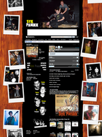 Syk Panikk MySpace Layout by JovDaRipper