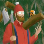 Lumberjack Wizard by jay156