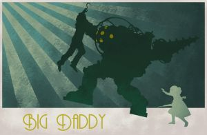 Bioshock: Big Daddy by hoecrux