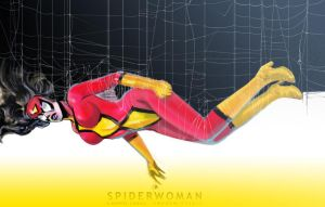 Spiderwoman by uwedewitt