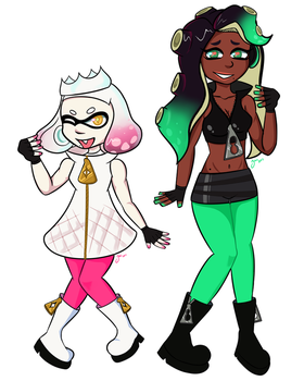 Pearl and Marina by zaiduck