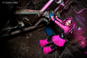 Cyber goth - Dangerous is funny by PrincessMiele