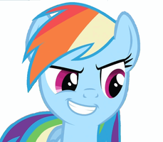 Rainbow Dash Vector by darkoemo94