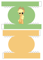 Applejack Bento Box 1/3 by demonreapergirl