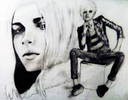 Andrej Pejic by Two-Tongues
