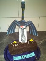 Mastersword complete cake by Yitty