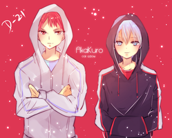 knb countdown: d-21 [akakuro hoodies] by califlair