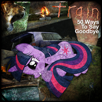 Train - 50 Ways to Say Goodbye (Twilight Sparkle) by AdrianImpalaMata