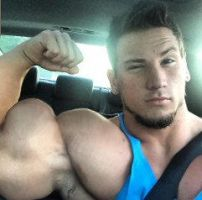 Musclemorphed Jock Hunk55 by free42dream