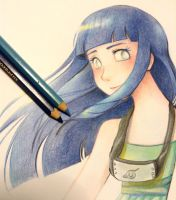 Hinata - pencils fanart by Elimonne