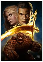 fantastic four by OAK-Art-Gallery