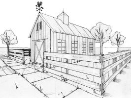 two point perspective exercise by beamer