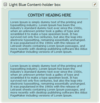 Light Blue Content-holder box by CypherVisor