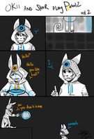 Okii and Shar play Portal2 Vol.2! by Oki-Pup