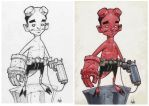 Little Hellboy... by Axel13-Gallery