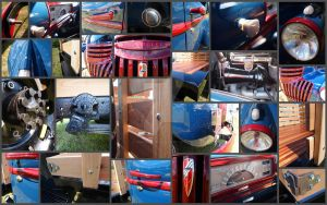 1941 Pickup in pieces by chrishillman
