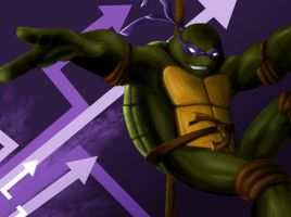 TMNT - Donatello by Sora2theStars