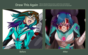 Draw This Again - deviantID 2011 to 2012 by ArtistMeli