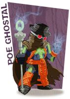 MOTU 30th  - Poe Ghostal by happymonkeyshoes