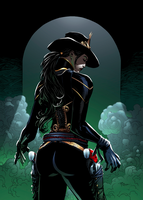 The Legend of Oz: Wicked West Issue 16 Cover A by KateFinnegan