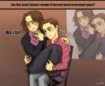 J2 and personal space by comuto-sama