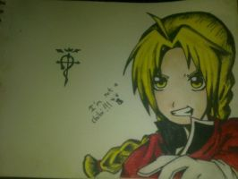 Edward Elric~!! by oMarionette