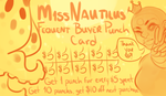 punchcard by M1ssNautilus