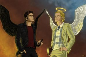 Good Omens by Cordania