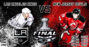 L.A. Kings Vs New Jersey Devils - 2012 STANLEY CUP by Sammzor