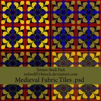 Medieval Fabric Tiles TexPak by redwolf518stock