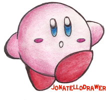 Kirby by JONATELLODRAWER