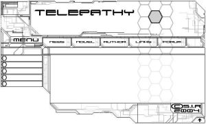Telepathy homepage by AlphonseCapone