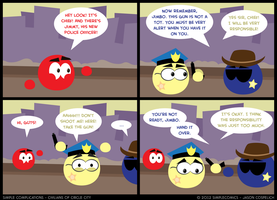 SC178 - Civilians 3: Police Officer by simpleCOMICS