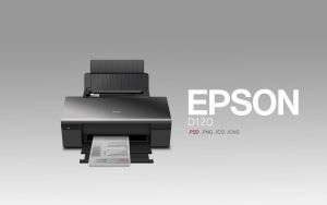 Epson D120 psd|png|ico|icns by abdelrahman