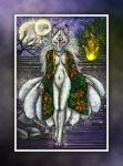Collab: Tiger Lily Kitsune by cloudstar-wolf