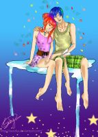 Lovers And The Stars Copy by Easoka