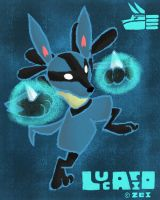 p3-lucario by thirteenz