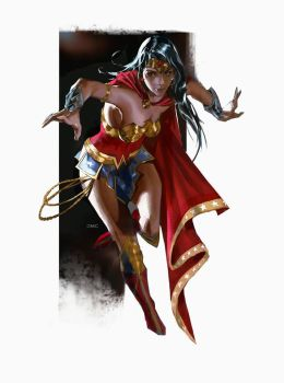 Wonder Woman by danielmchavez