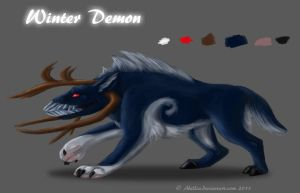 Contest Entry 2- Winter Demon by Abellia