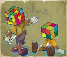 Mickeys Rubiks by graphic-staff